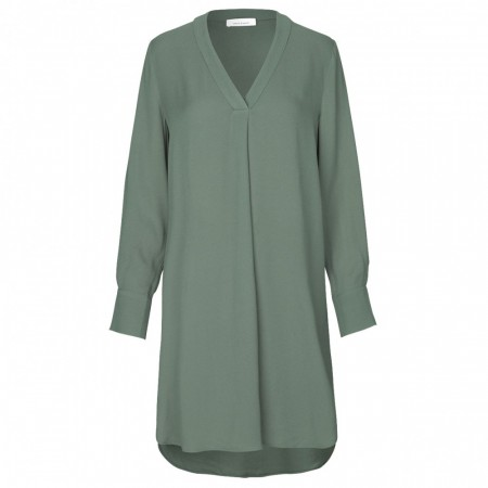 Samsøe & Samsøe - Hamill Vn Dress 8325 - Duck Green