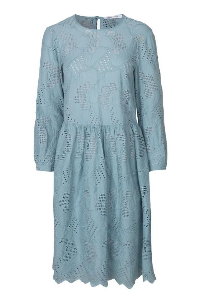 kjole samsøe knyting knapper