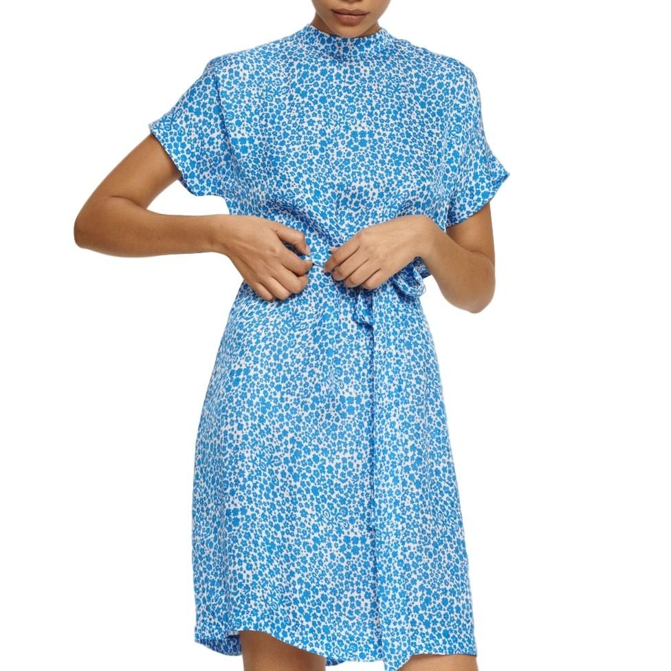 Blue Kimberly Kjole  Samsøe Samsøe  Hverdagskjoler - Dameklær er billig