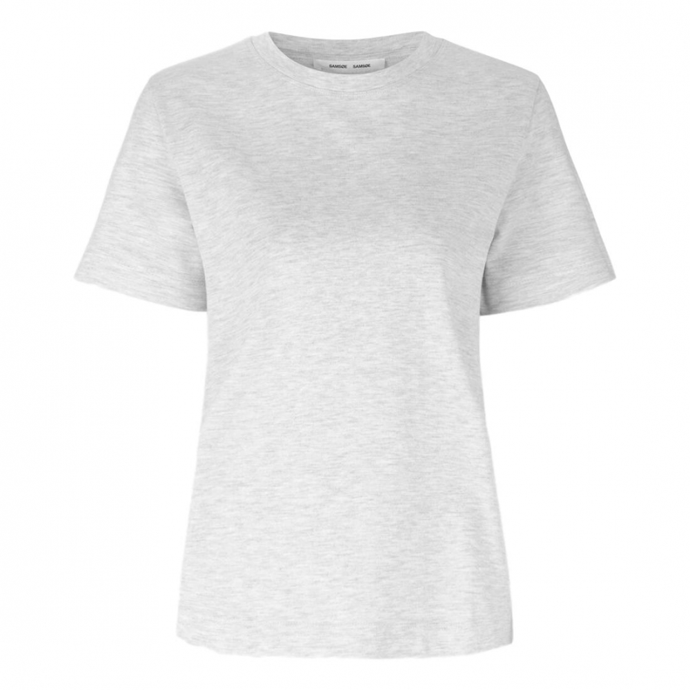 SAMSØE & SAMSØE CAMINO T SHIRT WHITE | Classique AS