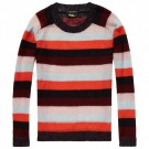 Maison Scotch - Striped Mohair Pullover - Striper thumbnail