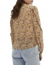 Maison Scotch - Mixed Print Top In Crinkled Quality thumbnail