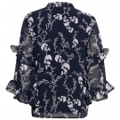 Part Two - Neima Blouse - Artwork Dark Blue thumbnail