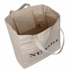 Nunoo - Big Tote Recycled Canvas White  thumbnail