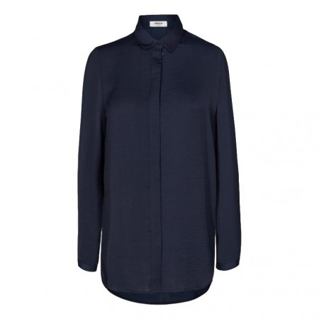 MSCH - Blair Polysilk Shirt - Black