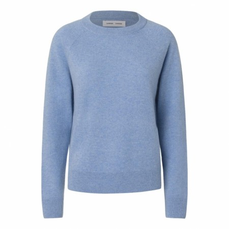 Samsøe Samsøe - Boston O-Neck - Dusty Blue