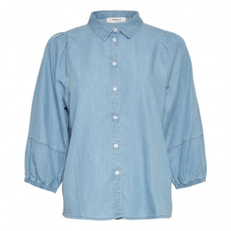 MSCH - Jaina 3/4 Shirt - Blue Wash
