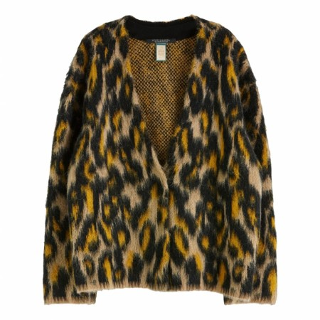 Maison Scotch - Brushed Animal Cardigan - Leo
