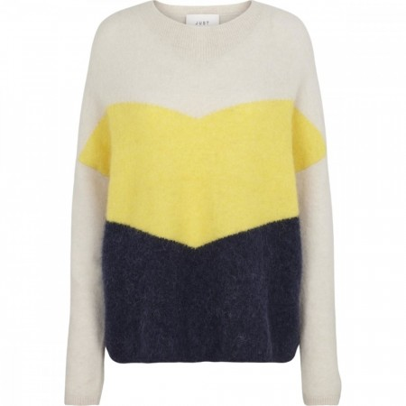 Just Female - Herle Knit - Pale Yellow