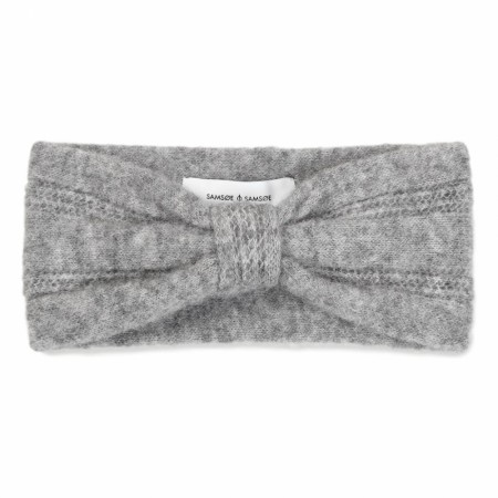 Samsøe & Samsøe - Nor Headband 7355 - Grey Mel.