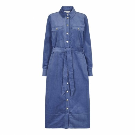 Just Female - Harlow Dress - Dutch Blue