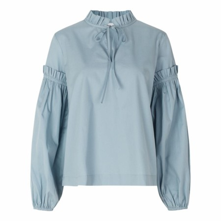 Samsøe Samsøe - Maia Shirt 11468 - Dusty Blue