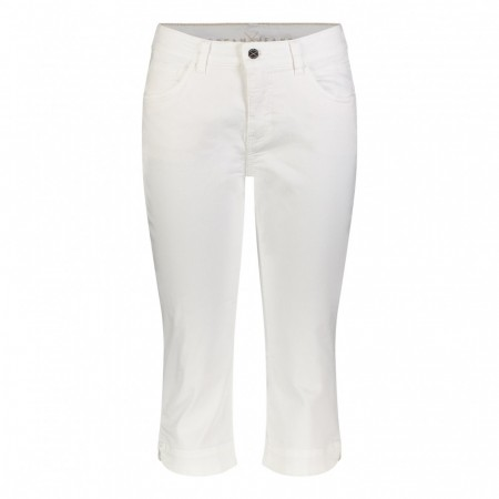 Mac Mode -  Dream Capri - White Denim