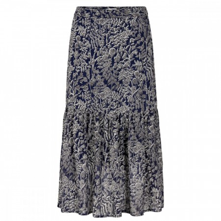Part Two - Londea Skirt - Artwork Dark Blue