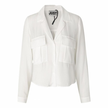JUST - Leolia Shirt - Cream