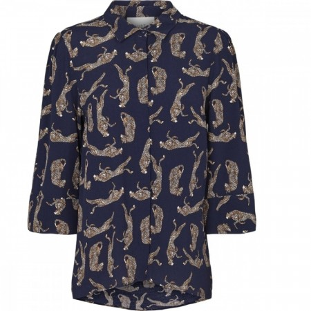 Just Female - Welis Shirt - Leopard