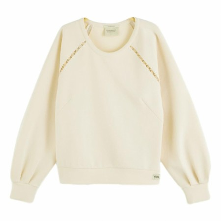 Maison Scotch - Soft Crewneck Sweat - Ivory