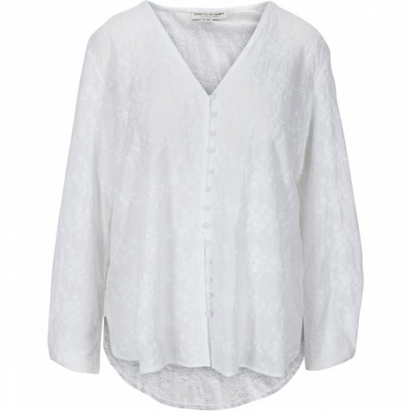 Close To My Heart - Harper Blouse - Hvit