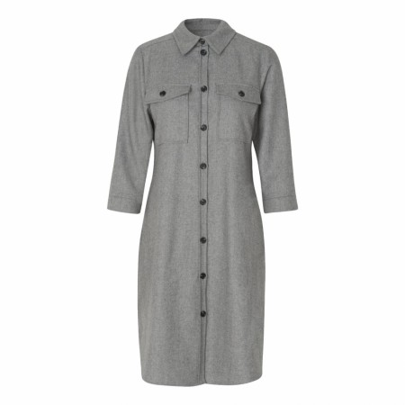 Levetè Room -  Lr-gunilla 4 Dress -  Light Grey
