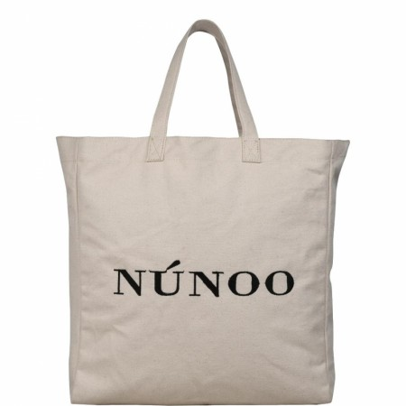 Nunoo - Big Tote Recycled Canvas White