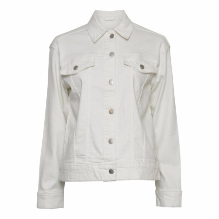 MSCH - Melanie Denim Jacket - Egret