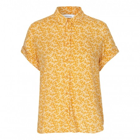 Milly Shirt aop 7201 W Yellow Buttercup