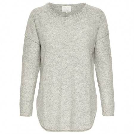 Part Two - Ilivias Pullover - Light Grey Mel.