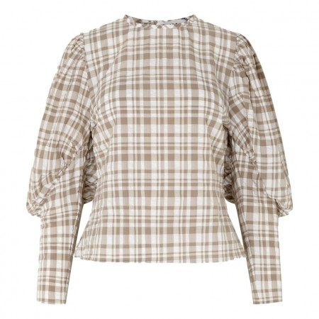 JUST - Hamilton Blouse - Hamilton Check