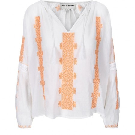 Close To My Heart - Billy Blouse - Sweet Orange