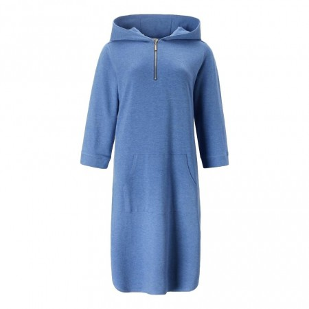 Close To My Heart - Babe Hood Dress - Sky Blue