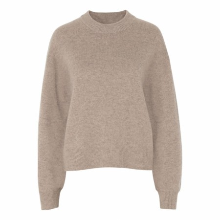Samsøe Samsøe - Amaris Crew Neck - Warm Grey