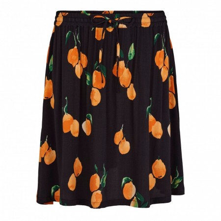 Just Female - Sine Skirt - Oranges