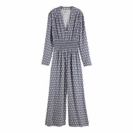 Maison Scotch - Allover Printed All-In-One Viscose Quality - Blå