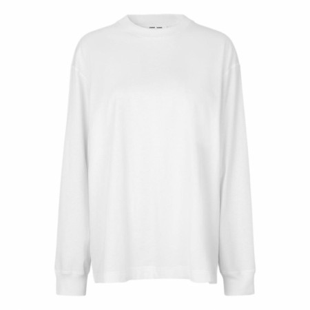 Samsøe Samsøe  - Chrome Ls T-shirt - White