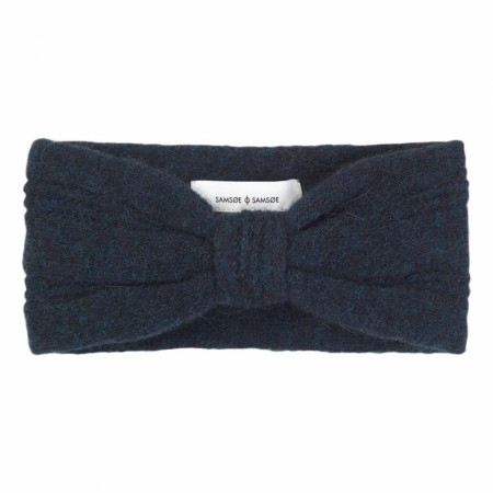 Samsøe & Samsøe - Nor Headband 7355 - Dark Blue Mel.