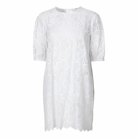 Samsøe Samsøe  - Juni SS Dress 11455 - Bright White
