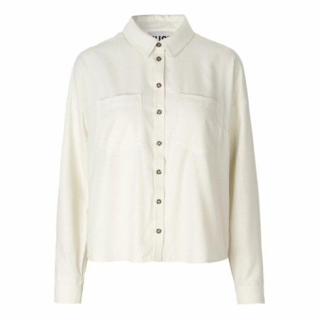 JUST -  Elina Shirt - Brilliant White