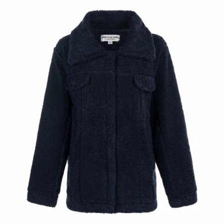 Close To My Heart - Phoenix Jacket - Navy Blue