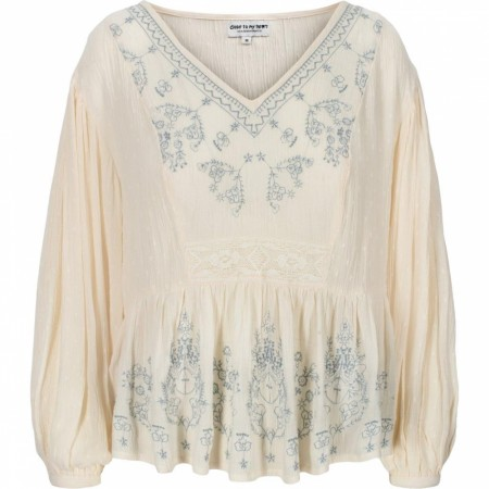 Close To My Heart - Olivia Blouse - Cream