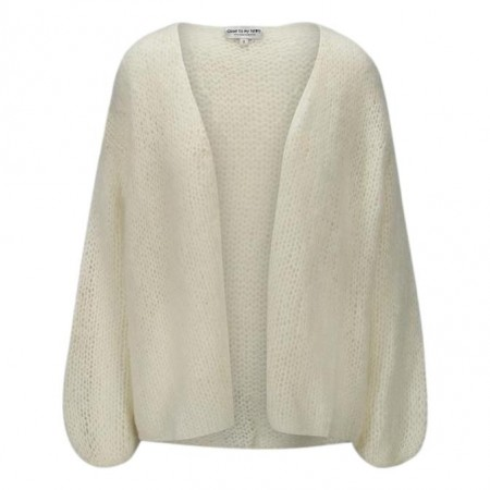 Close To My Heart - Angie Cardigan - Cream