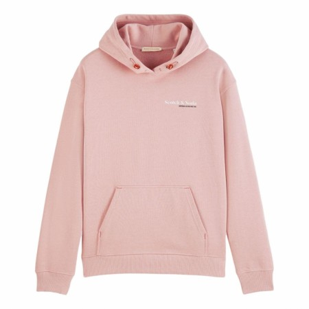 Maison Scotch - Unisex Hoody In Organic Cotton - Pink
