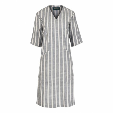 Iis Of Norway - Trine Linen Dress - Denim Stripe
