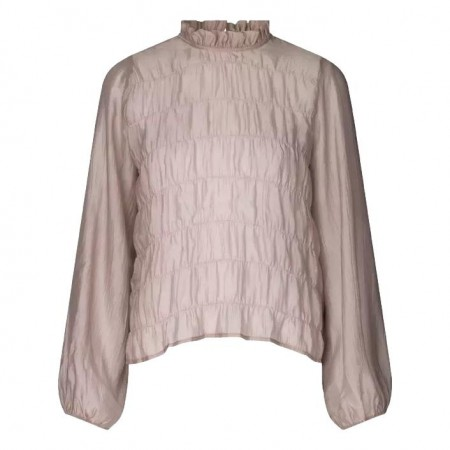JUST -  Pompano Blouse - Taupe