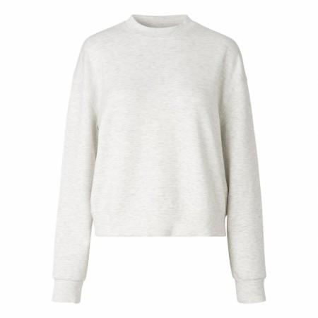 Samsøe Samsøe - Kelsey Crew Neck 9658 - Light Grey Mel.
