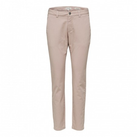 Selected Femme -  Slfmegan Mw Chino Noos W - Adobe Rose