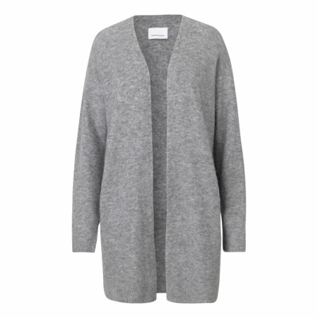 Samsøe Samsøe - Nor Cardigan - Grey Mel.