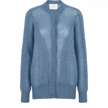 Just Female - Potter Cardigan - Provincial Blue