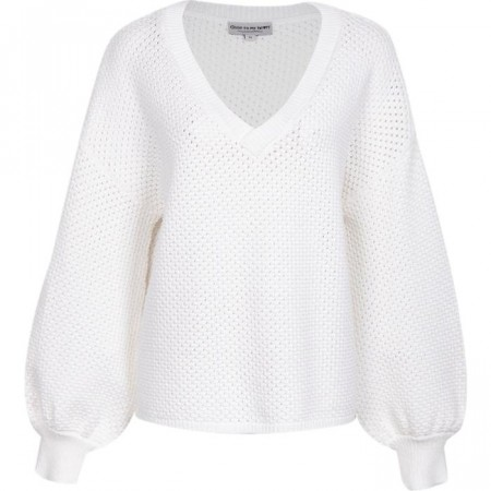 Close To My Heart - Cara Sweater - Soft White