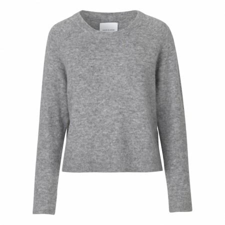 Samsøe & Samsøe - Nor O-N Short 7355 - Grey mel.