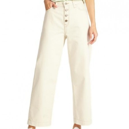 Lee - Button Thru Wide Leg - Eco Rinse